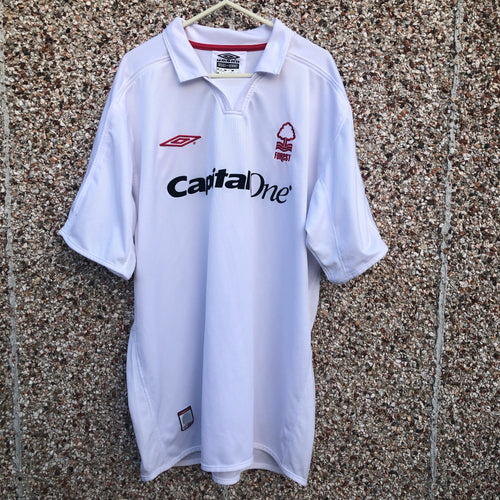2003 2004 Nottingham Forest away Football Shirt - XL