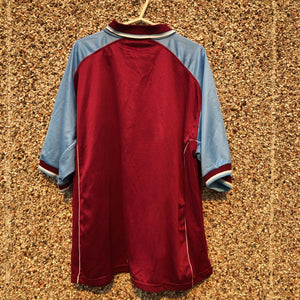 2000 2001 Aston Villa home Football Shirt - XXXL