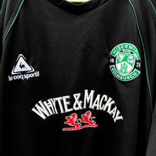 2007 08 HIBERNIAN AWAY FOOTBALL SHIRT - L