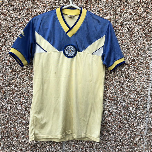 1986 1988 Leeds United away Football Shirt - S / XS