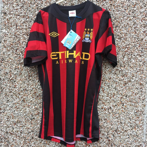 2011 2012 Manchester City away Football Shirt - M