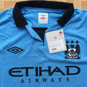 2012 2013 Manchester City Home Football Shirt - XL