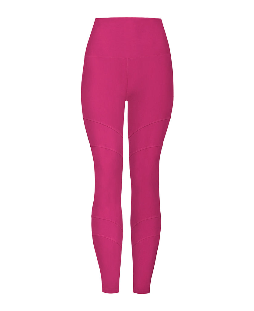 Artemis Recycled Yoga Legging - Raspberry