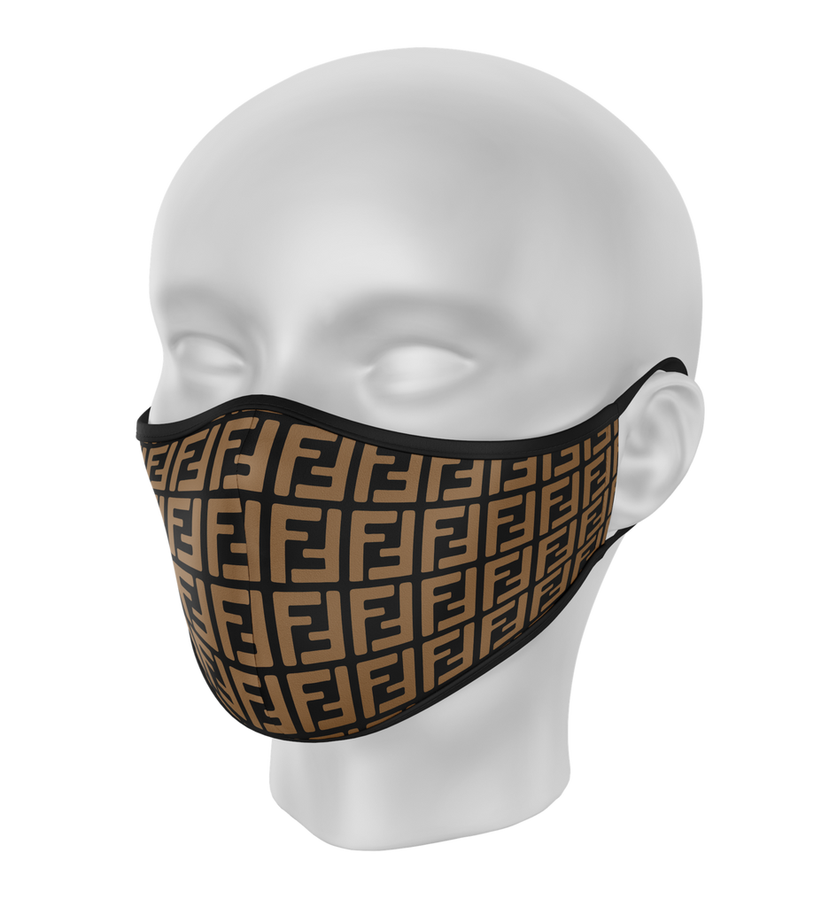 Brown FF Face Mask