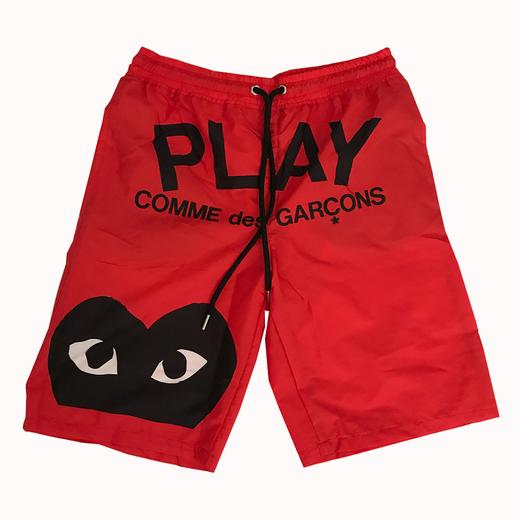 Red Play Trunks