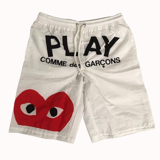 White Play Trunks