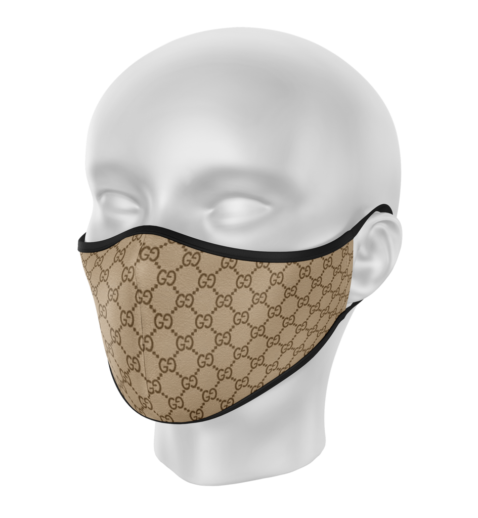 Brown GG Face Mask