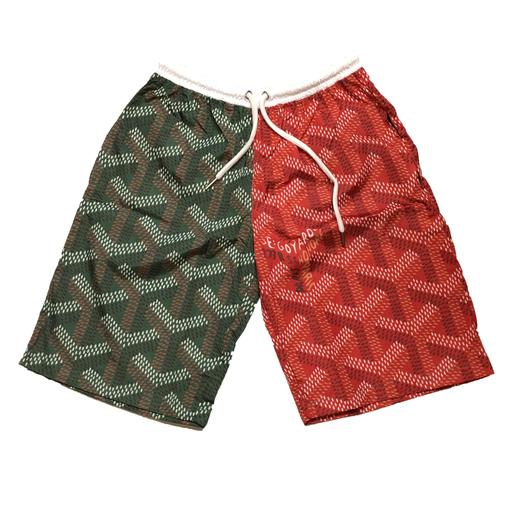Go Split Trunks (Green/Red)