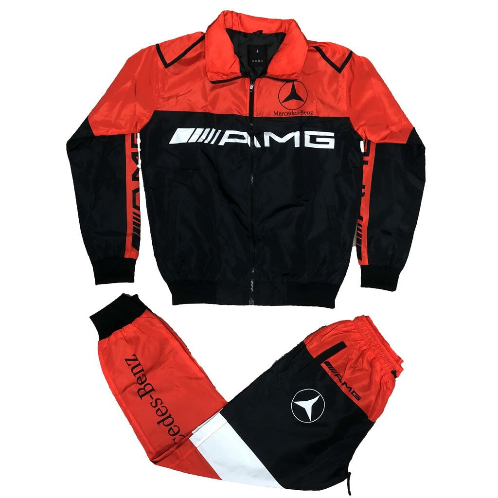 AMG Windbreaker Set (Red)