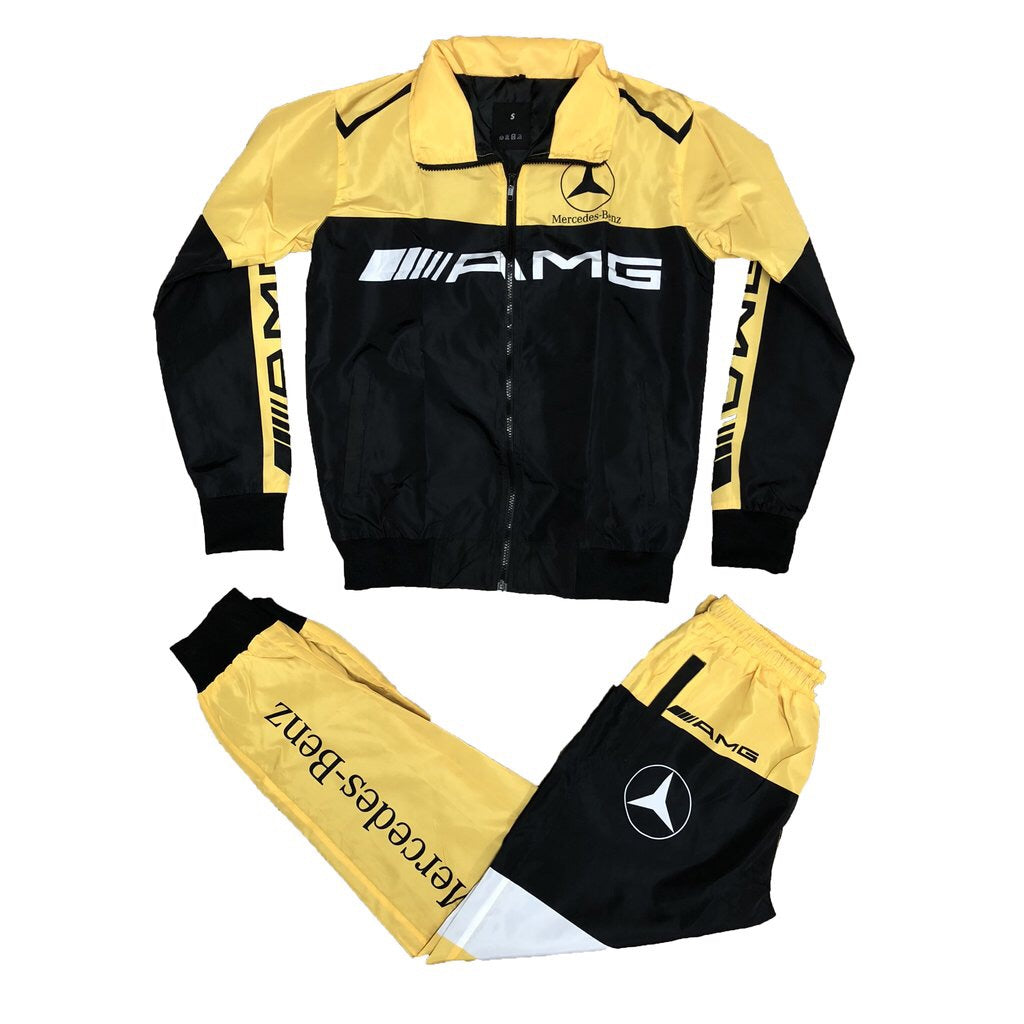 AMG Windbreaker Set (Yellow)