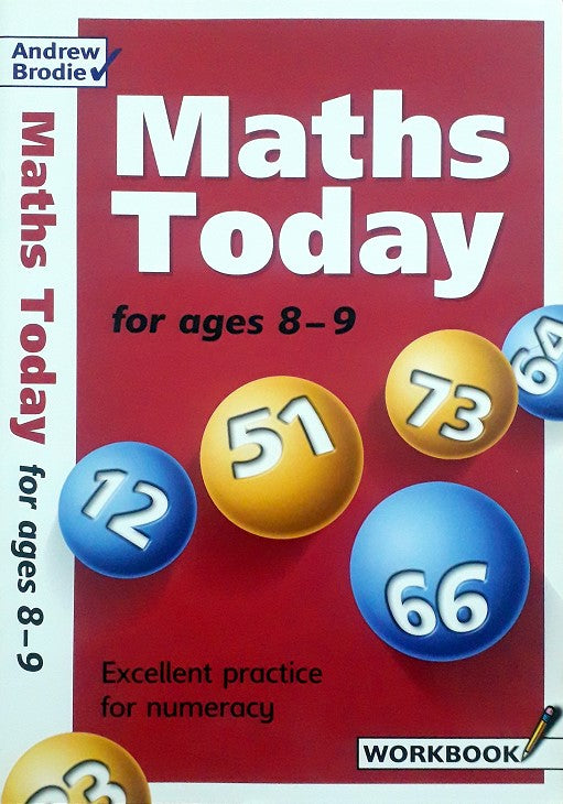 Maths Today for ages 8-9 (Workbook)