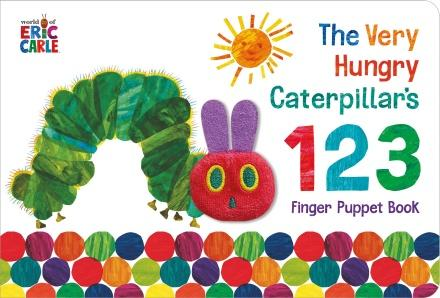 The Very Hungry Caterpillar Finger Puppet Book: 123 Counting Book by Eric Carle