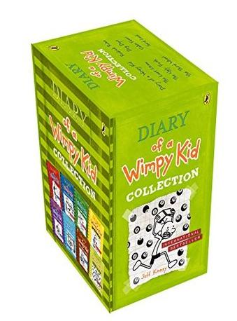 Diary of a Wimpy Kid Slipcase (8-book box set) by Jeff Kinney