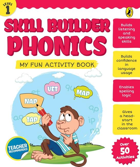 Skill Builder Phonics Level 1 by Sonia Mehta