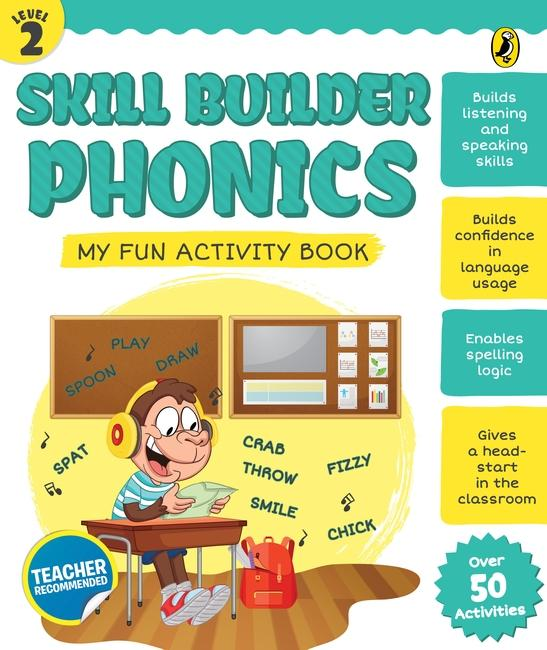 Skill Builder Phonics Level 2 by Sonia Mehta