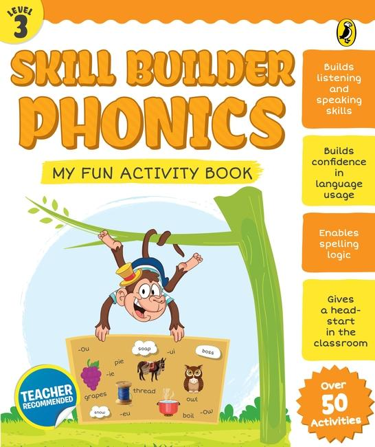 Skill Builder Phonics Level 3 by Sonia Mehta