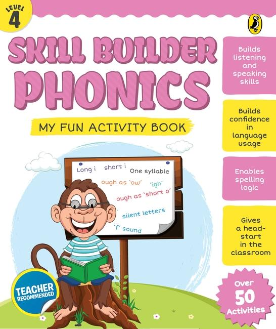 Skill Builder Phonics Level 4 by Sonia Mehta