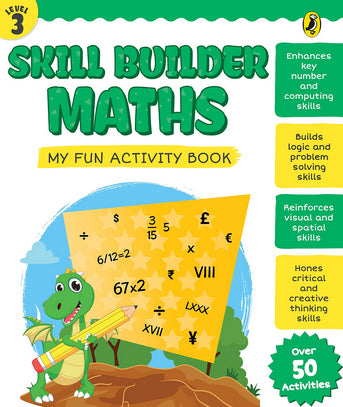 Skill Builder Maths Level 3 by Sonia Mehta