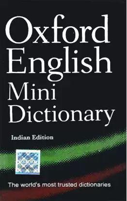 Oxford English Mini Dictionary - Indian Edition by NA