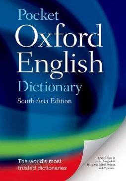 Pocket Oxford English Dictionary by NA