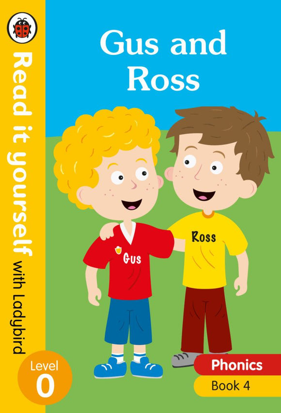Gus and Ross - Read it yourself with Ladybird Level 0 by Ladybird