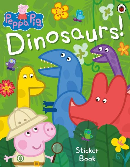 Peppa Pig: Dinosaurs! Sticker Book by Ladybird