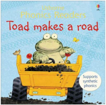 Toad Makes a Road (Usborne Phonics Readers) by Phil Roxbee Cox