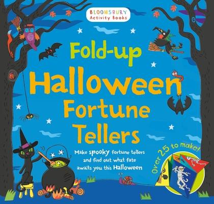 Fold-up Halloween Fortune Tellers by NA