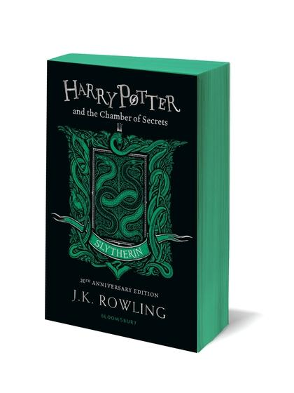 Harry Potter and the Chamber of Secrets - Slytherin Edition (Green) by J.K. Rowling