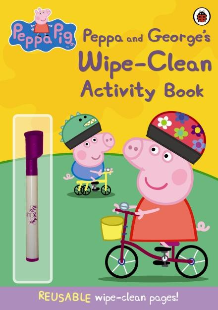 Peppa Pig: Peppa and George's Wipe-Clean Activity Book by Ladybird