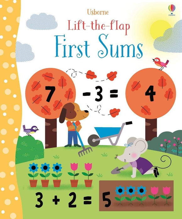 Usborne Lift-the-flap First Sums by Felicity Brooks