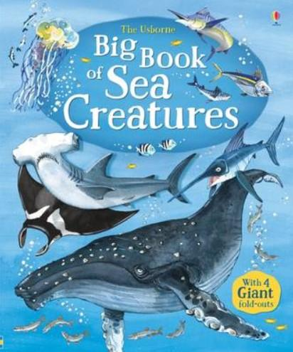 The Usborne Big Book of Sea Creatures by Minna Lacey