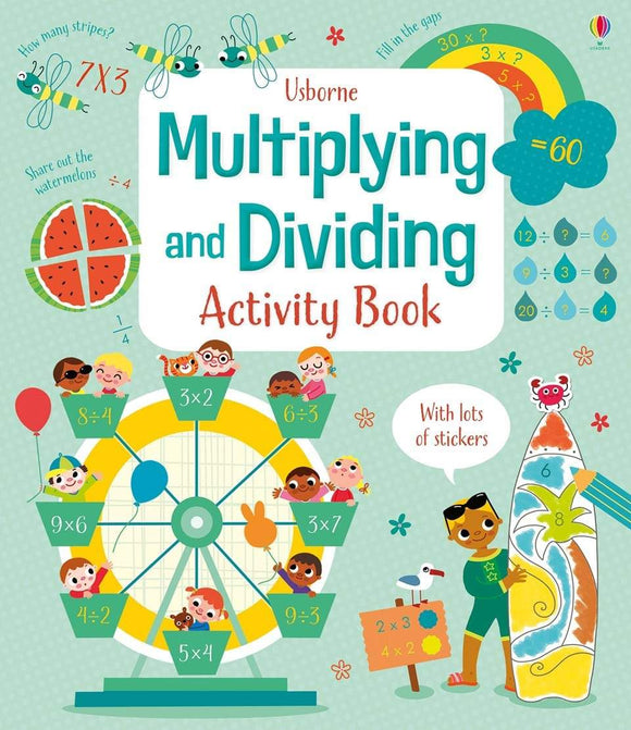 Multiplying and Dividing Activity Book by Darran Stobbart