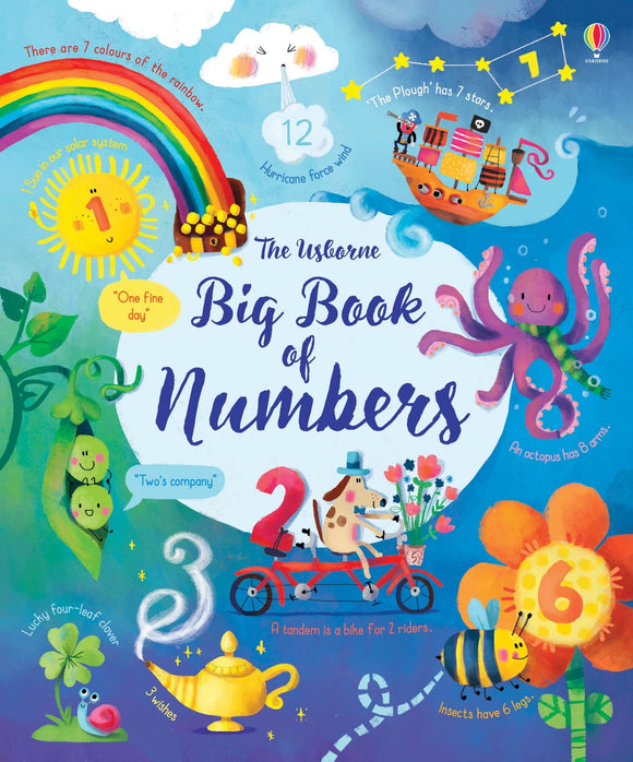 The Usborne Big Book of Numbers by Felicity Brooks