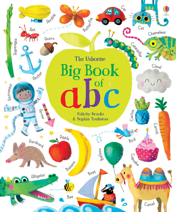 Big Book of ABC (Usborne) by Felicity Brooks