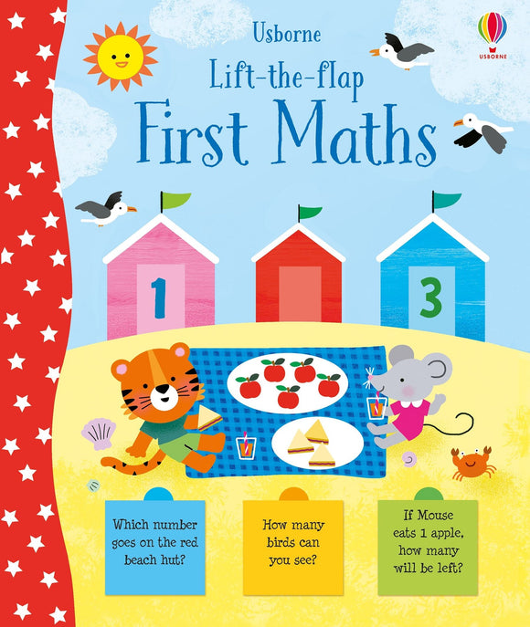 Lift-the-Flap First Maths (Usborne) by Jessica Greenwell