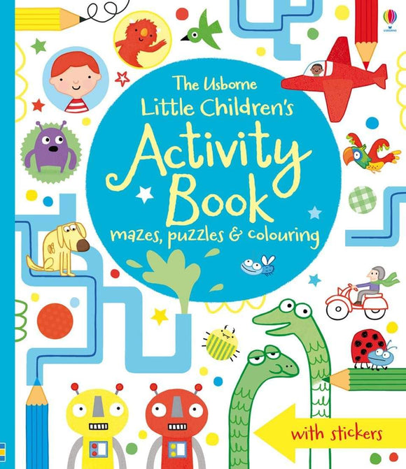 Little Children's Activity Book by Lucy Bowman & James Maclaine