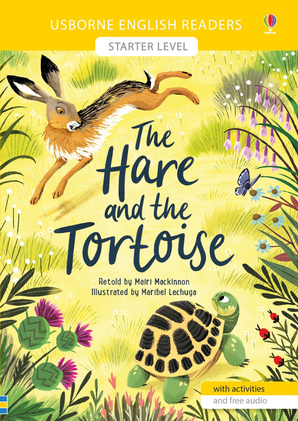 The Hare and the Tortoise (Usborne English Readers Starter Level) by Mairi Mackinnon