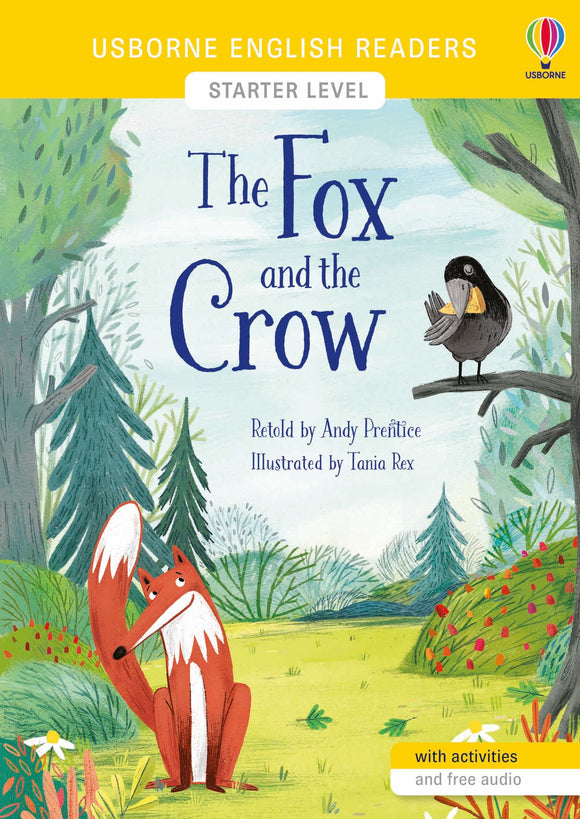 The Fox and the Crow (Usborne English Readers Starter Level) by Andy Prentice
