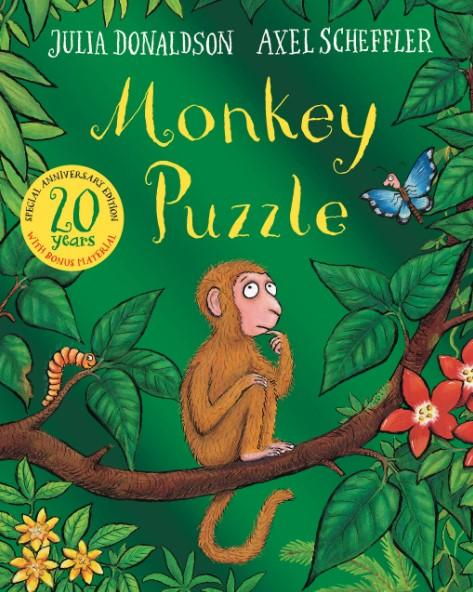 Monkey Puzzle 20th Anniversary Edition by Julia Donaldson