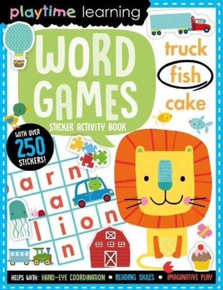 Playtime Learning Word Games (Sticker Activity Book) by Make Believe Ideas