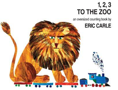 1, 2, 3 to the Zoo: An Oversized Counting Book by Eric Carle