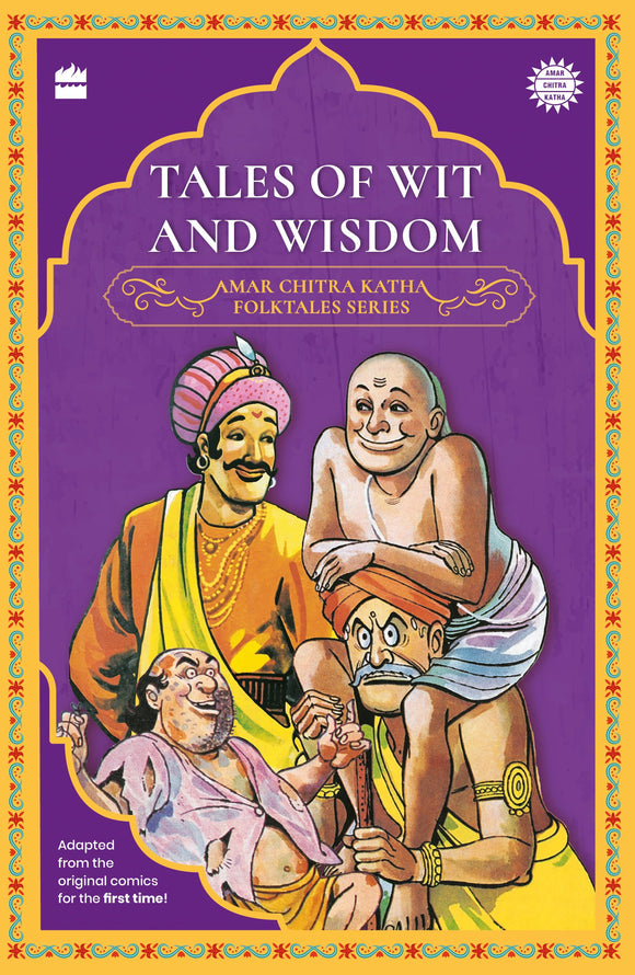 Amar Chitra Katha Folktale Series: Tales of Wit and Wisdom by Amar Chitra Katha