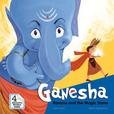 Ganesha - Ravana and the Magic Stone by Sourav Dutta