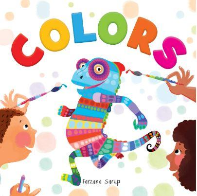 Colors - Illustrated Book On Colors (Let's Talk Series) by Wonder House Books