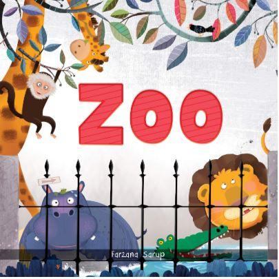 Zoo - Illustrated Book On Zoo Animals (Let's Talk Series) by Wonder House Books