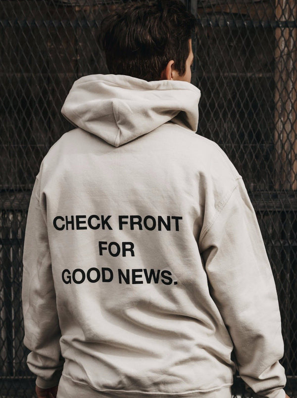 """Check Front"" Hoodie"