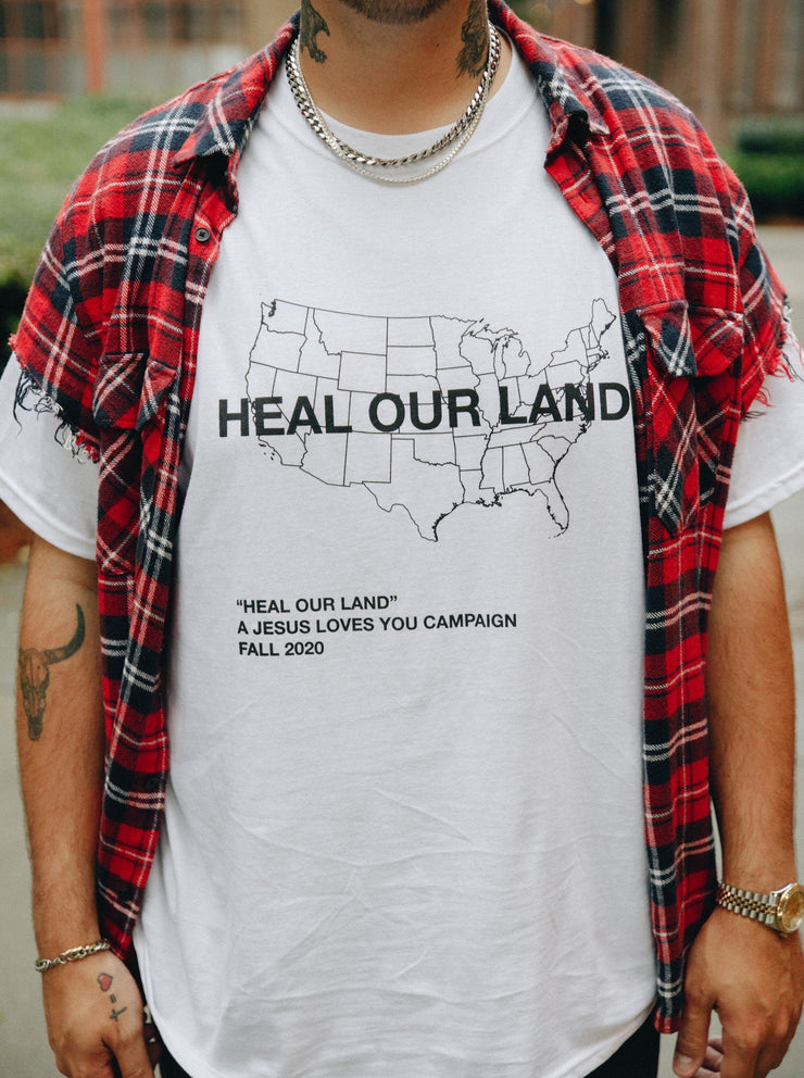 """HEAL OUR LAND"" LIMITED EDITION TEE"