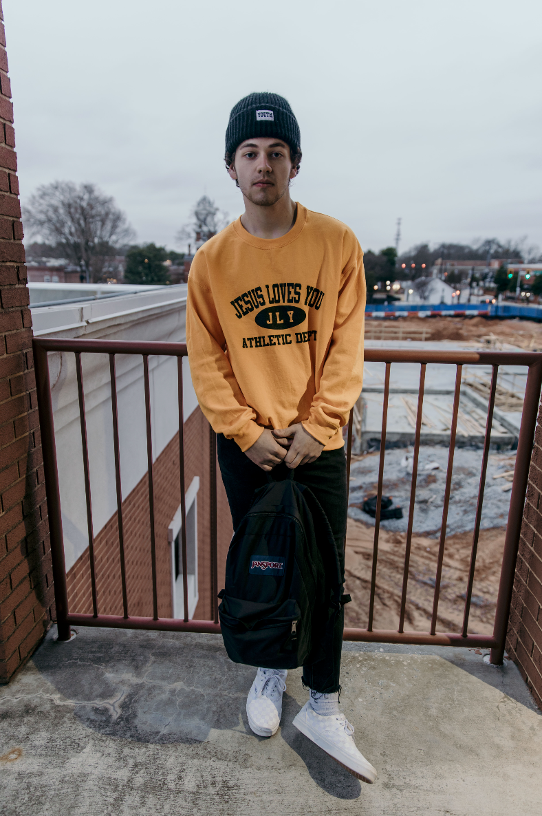 "JLY ""Athletic Dept."" Crewneck"