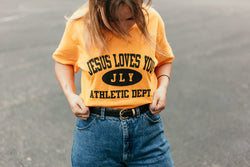 "JLY ""ATHLETIC DEPT"" Tee"
